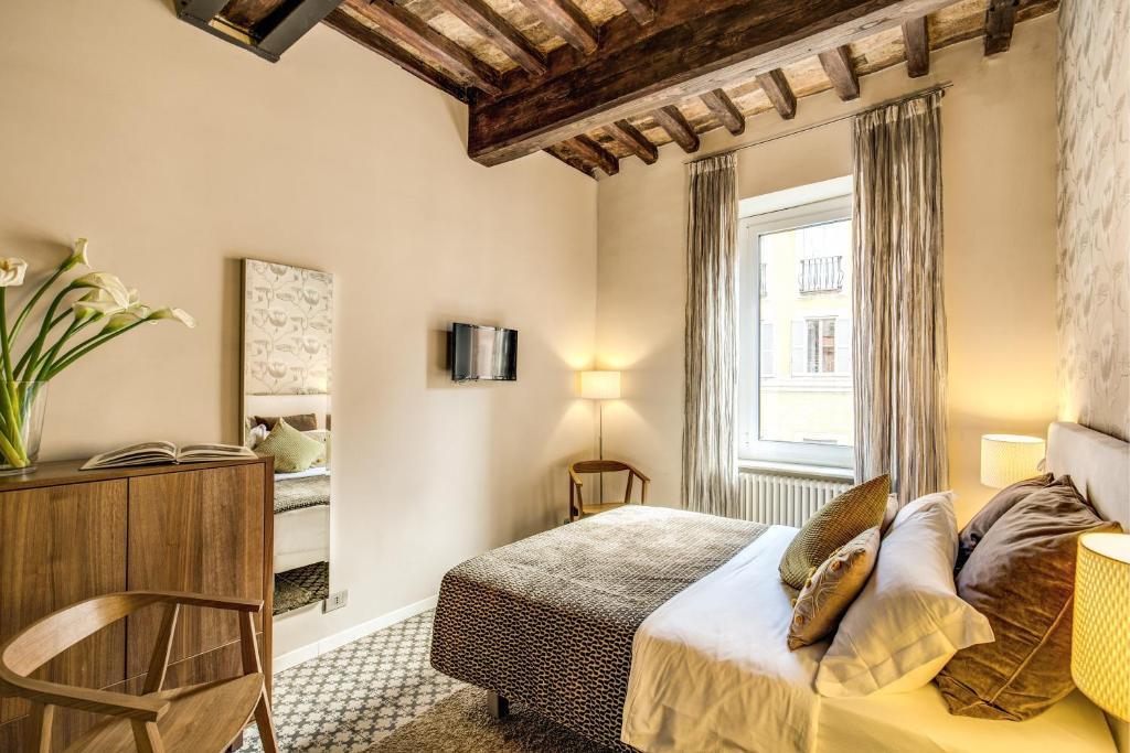 Trevi Beau Boutique Hotel ligt in een van de leuke wijken om te overnachten in Rome!
