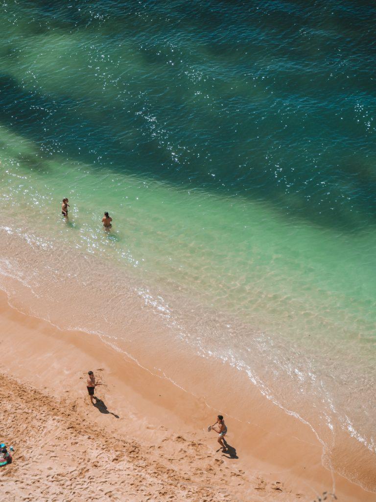 Uitzicht op Praia da Marinha