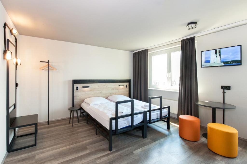 Een budget kamer van ao Hotel Venezia Mestre 2