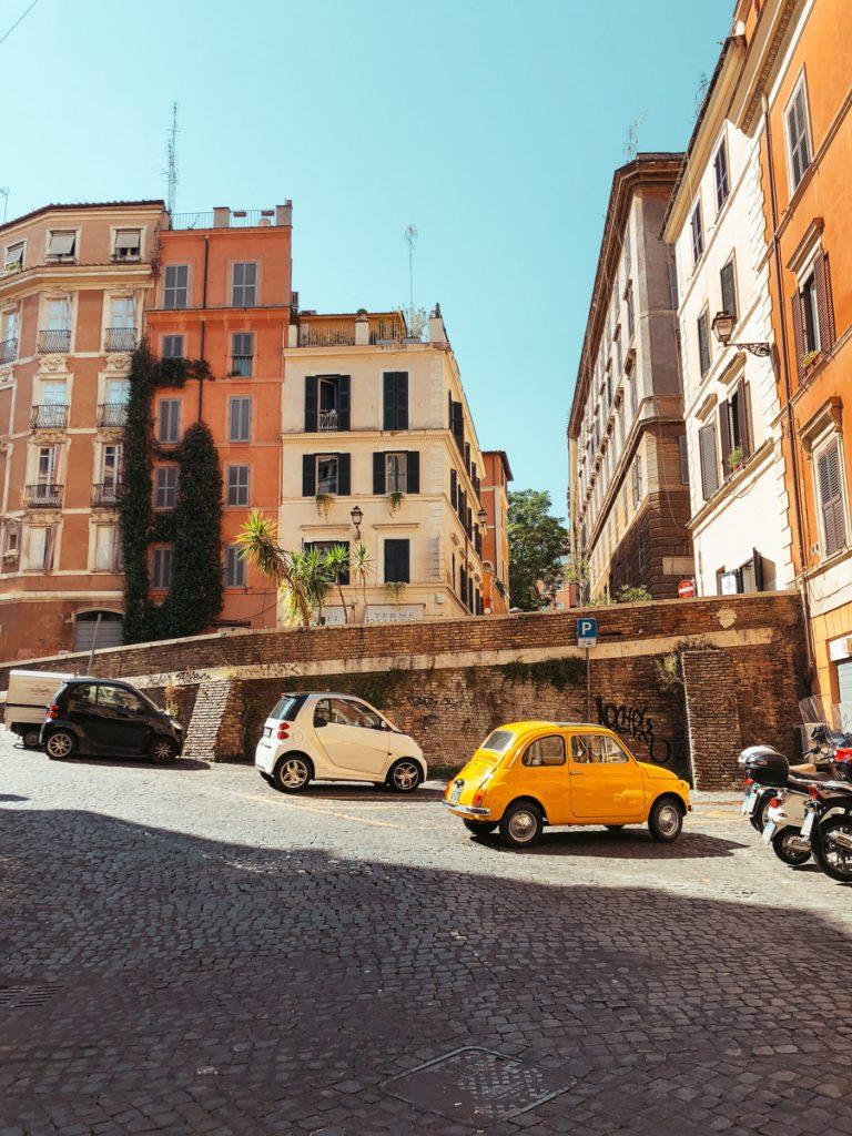 Een auto huren in Italië