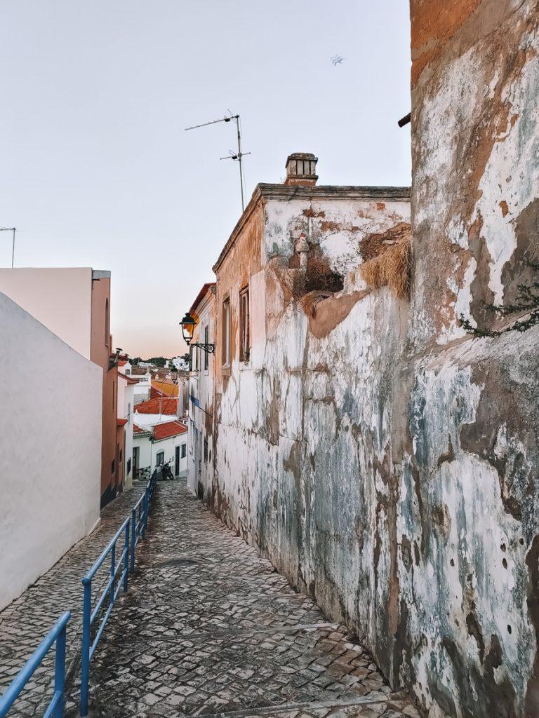 Ferragudo in de Algarve, Portugal