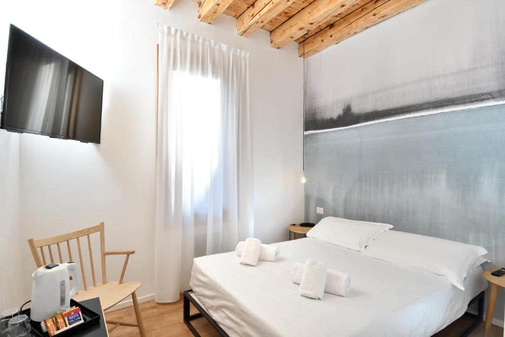 Een van de goedkope hotels om te overnachten in Venetië is Hotel Rio