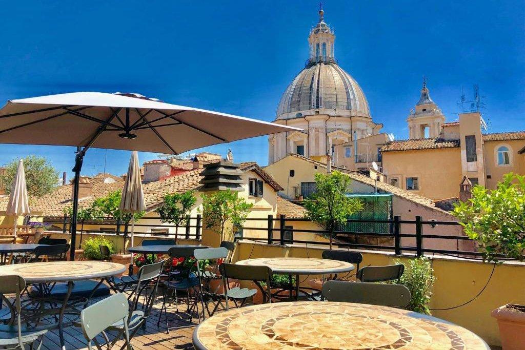 Navona Residenza de Charme is een van de leukste plekjes om te overnachten in Rome!