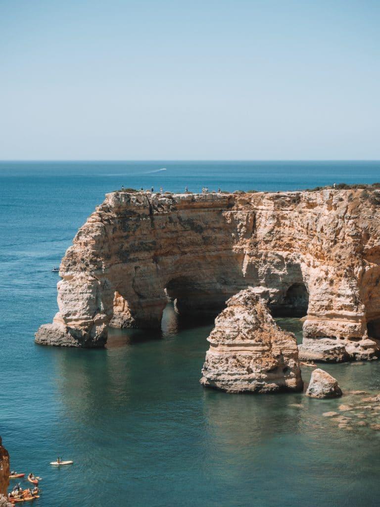 Uitzicht tijdens een van de mooiste wandelingen in de Algarve