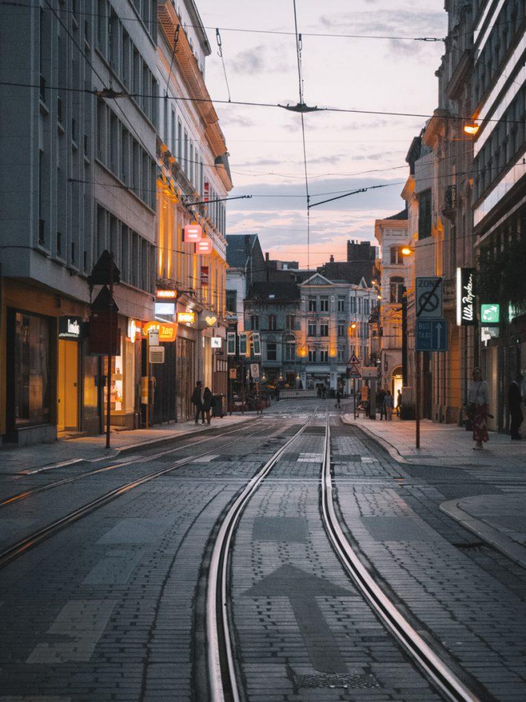 Straat in Gent