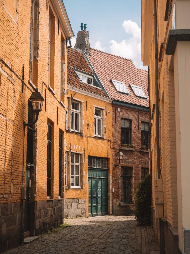 Prachtige gebouwen in Gent