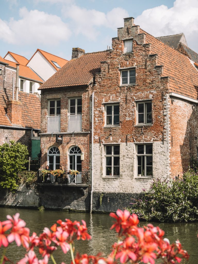 Oude gebouwen in Gent