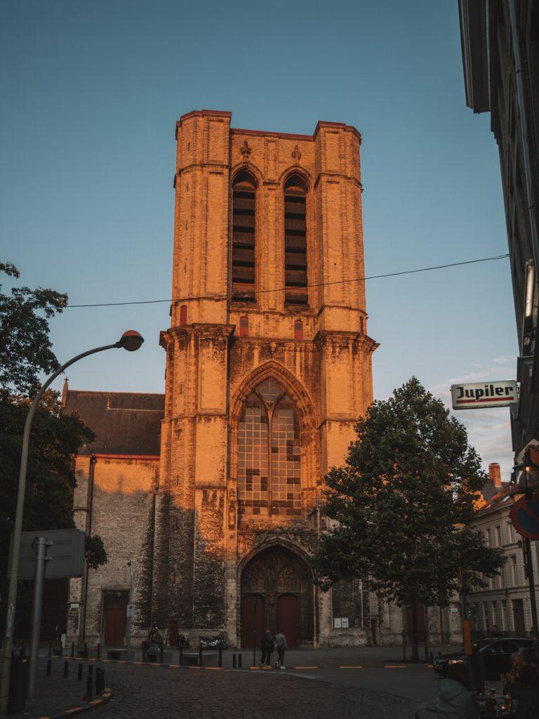De lichtwandeling in Gent